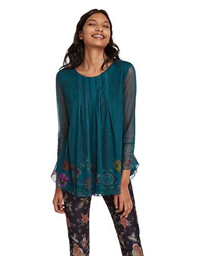 Desigual T-Shirt Luciana Camiseta para Mujer