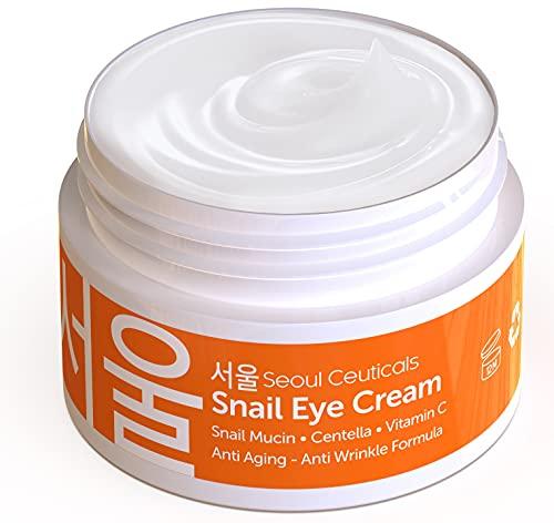 Korean Skin Care Snail Eye Cream - …
