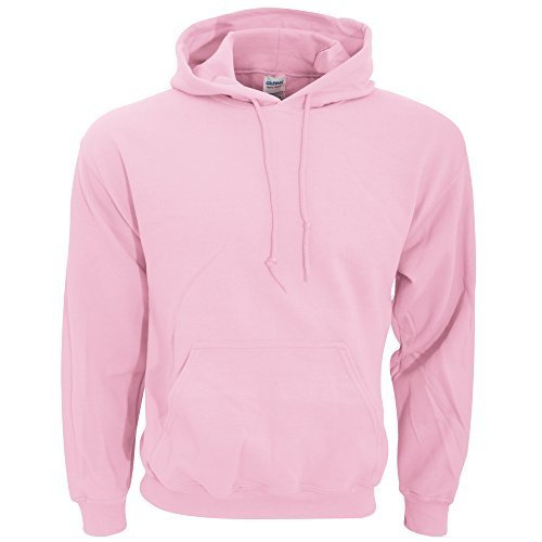Hooded Pullover Sweat Shirt Heavy Blend 50/50 - Light Pink 18500 L