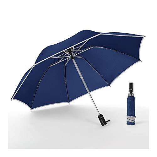 Parasol Mannen Vouwen Omgekeerde Parasol Vrouwen Reizen Zon Paraplu's Zwarte Winddichte Automatische Zakelijke Auto Kerstmis GIF