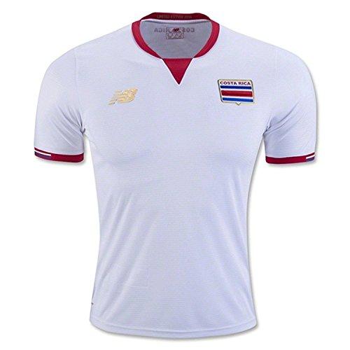 Camiseta de fútbol Costa Rica de la Copa América Centenario 2016 -  Blanco -  Small