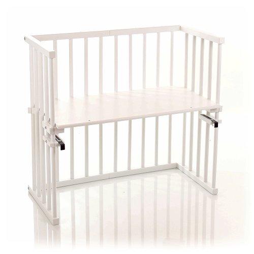babybay midi 120102 - Lit d'appoint pour bébé - Vernis blanc