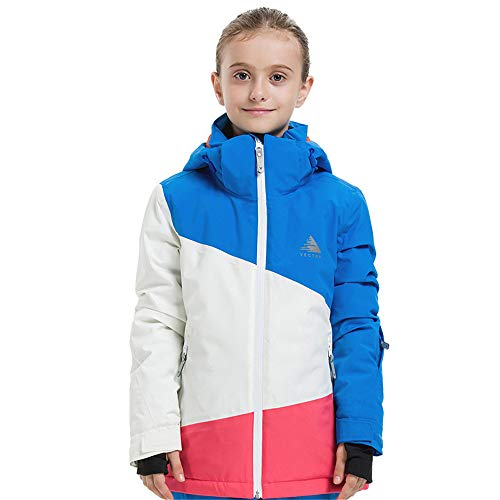 CXJC Outdoor, waterdicht, winddicht, ademend, thermisch sterk meisje, ski-jack voor snowboarden, skiën, skiën, skiën, voor 8-14 kinderen