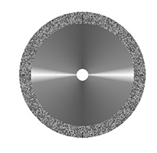 VAL-Lab D911HEF-190(355.504.190)/UM Diamond Disks, Premium Quality, Super Flex, Double Sided/UnMounted, Size 19 mm, Thickness 0.14 mm, 30 μm, Fine Grit (Pack of 2)