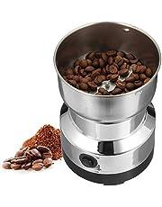 OurLeeme Molinillo de café eléctrico, granos de café, nueces, especias, molinillo con hoja de acero inoxidable