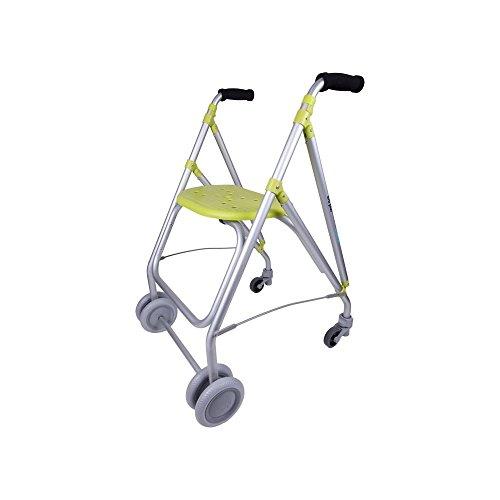 Forta fabricaciones - Andador de aluminio para ancianos ARA-PLUS - Pistacho ✅