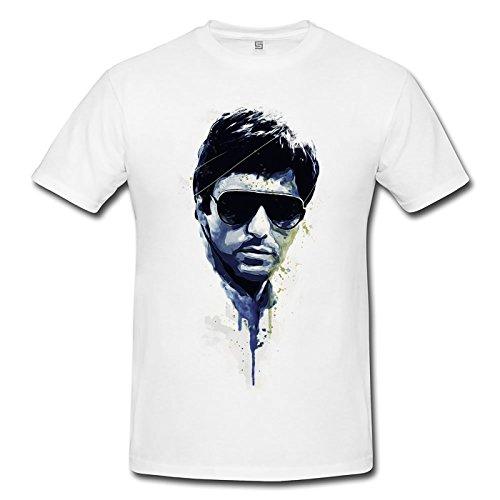 Al Pacino Scarface Premium Herren T-Shirt Motiv aus Paul Sinus Aquarell