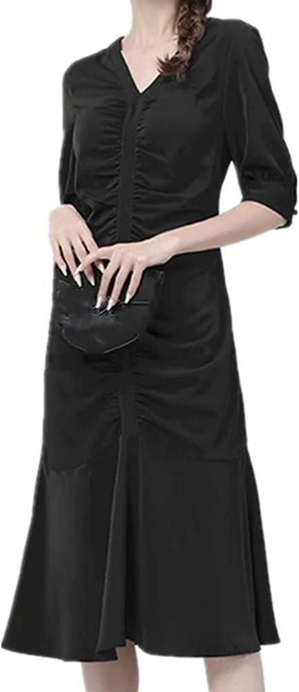 N\P Save money Color Large Dresses Summer Women's Dress Slim Surprise price Mid-Length