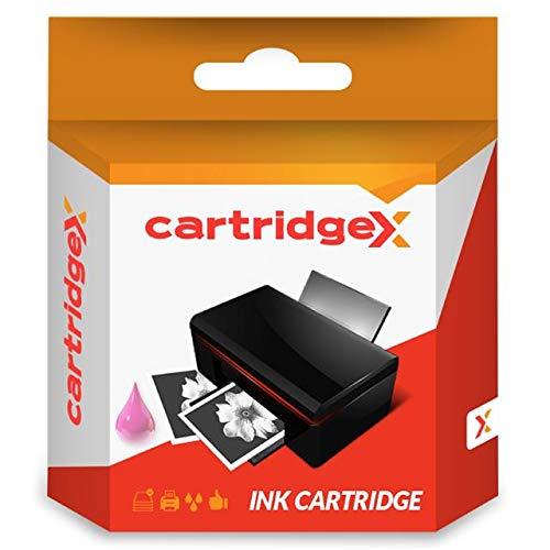 Cartridgex - Cartucho de Tinta Compatible con Epson Stylus Photo R320 R330 R340 R350