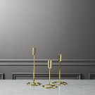 3-piece roundabout taper candle holder set + Reviews | CB2