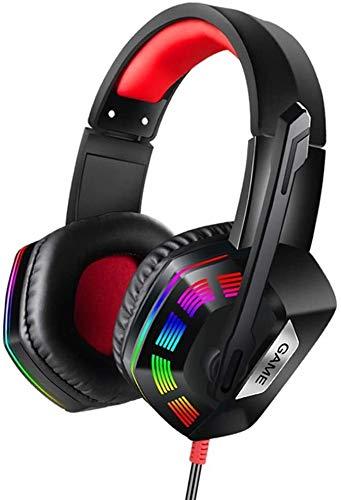 MGWA Gaming Headset. Over Ear Kopfhörer, Kabel Professionelle Recording Kopfhörer Mit Stereo-Sound Gaming Headset 3,5 Mm Mikrofon Kompatibel Mit N-Schalter