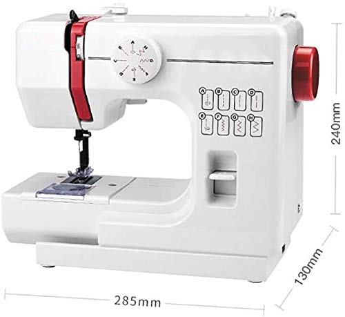 Read About QIYUE Portable Sewing Machine, 8 Stitches 2 Speed Heavy Duty Sew Machine, Automatic Needl...