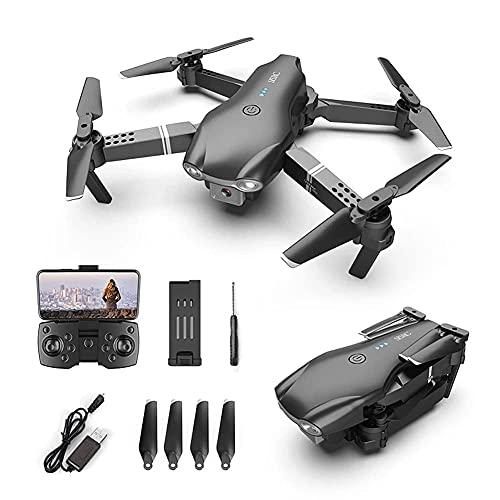 Drone Posizionamento del flusso ottico Quadricottero RC con videocamera HD 4K, modalità senza testa di mantenimento dell'altitudine, Droni FPV pieghevoli Wifi Live Video 3D Flip 6Axis RTF Easy Fly St