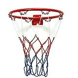 Ruoyu-EU - Aro de baloncesto para interiores y exteriores, diámetro de 32 cm, cesta de práctica para tiro