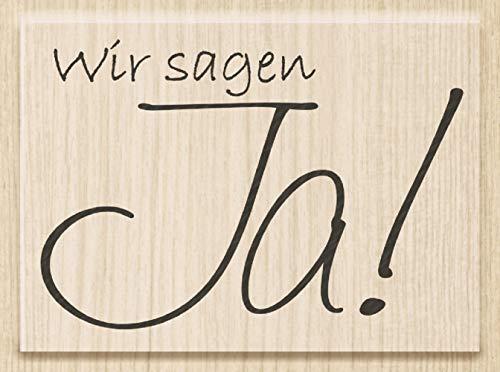 Knorr Prandell 211800007 Knorr prandell 211800007 Stempel aus Holz (Hochzeit) Motivgröße 6,4 x 4,5...