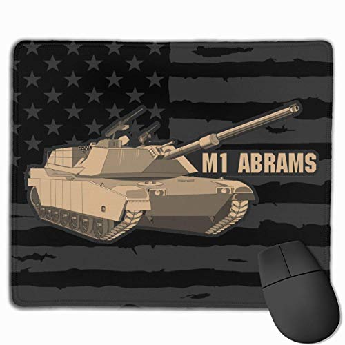 Mausmatte,Spiel Maus Pad,Gaming Mauspad,Mausunterlage,M1 Abrams Tankmatte Mäuse Mousepad Für Office Home Laptop Computer Pc