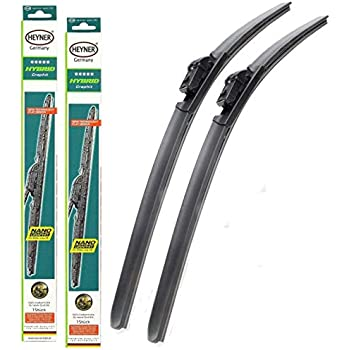 Sportage Models 2016 To 2020 Heyner Germany Super Flat Wiper Blades Front Replacement Set 2616 HSF2616H