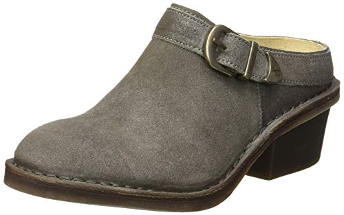 Fly London Done991fly, Mules Femme, Gris (Ash 002), 42 EU