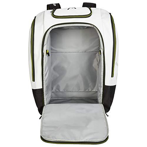 HEAD Unisex– Erwachsene Rebels Racing Backpack S Skischuh-Tasche, schwarz/gelb, Einheitsgröße