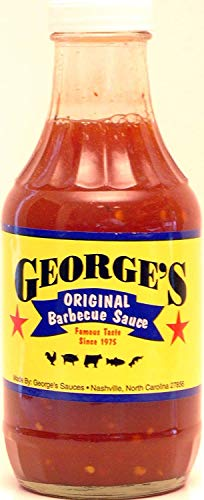 George's Sauces Original Barbecue Sauce 16oz. (Pack of 3)