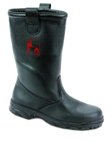 EWS Feuerwehrstiefel Schaftstiefel 92001 Größe 47