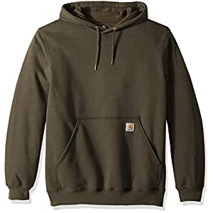 Carhartt Men's Midweight Original Fit Hooded Pullover Sweatshirt
