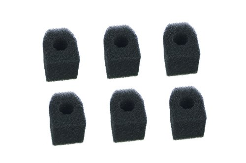 LTWHOME Bio Sponge Fit for Penn Plax Cascade 300 Internal Filter Replacement Cartridges(Pack of 6)