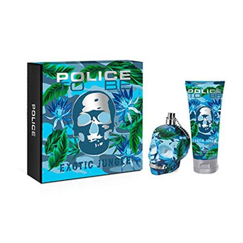 Police To Be Exotic Jungle Man Eau De Toilette Spray 75ml Set 2 Pieces 2019370717