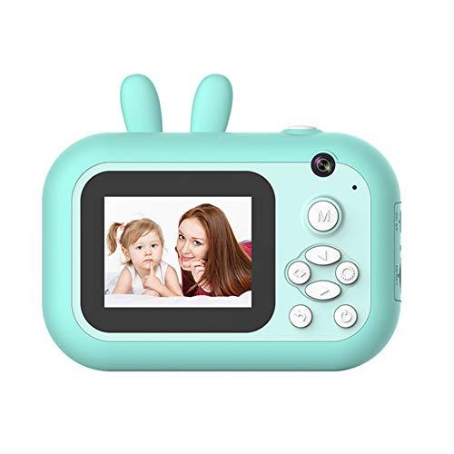 WFIZNB Kinder-Kamera Polaroid-Kamera für Kinder 1080P HD-Kamera mit Thermal-Fotopapier Spielzeug-Kamera für Geburtstags-Geschenke,Blau