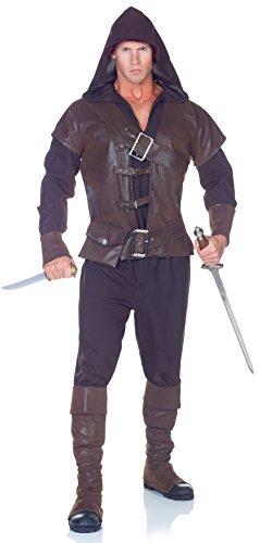 Costumes pour toutes les occasions UR29430 Assassin Adulte Une seule sz. 42-44
