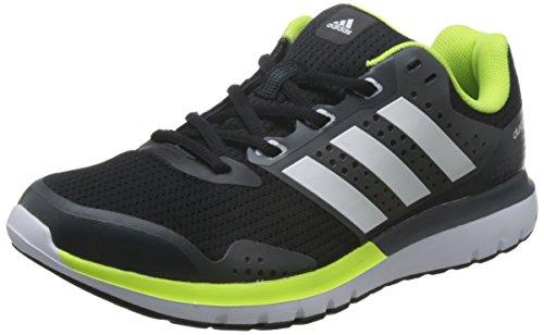 adidas Duramo 7 M, Zapatillas para Hombre, Negro (Negbas/Ftwbla/Griosc), 42 2/3...