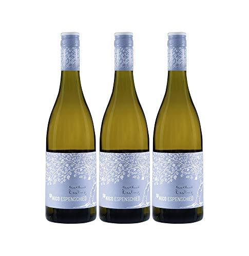 Nico Espenschied Riesling Herz+Hand Weißwein Wein trocken QbA (3 Flaschen)