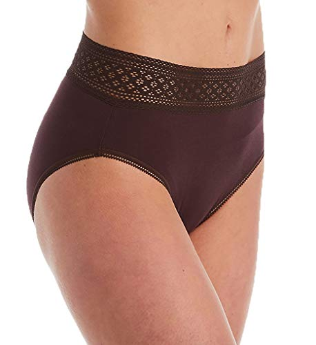 Wacoal Women's Subtle Beauty Hi Cut Brief Panty