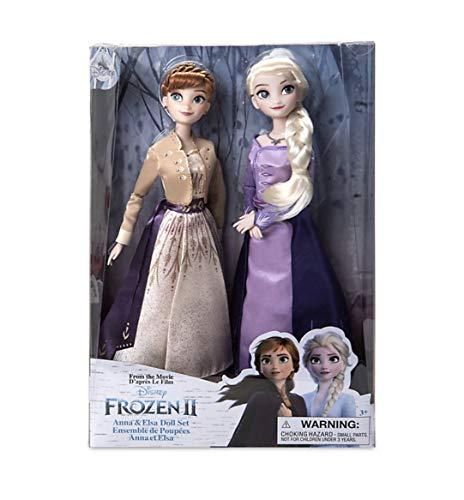 D Disney Store Anna und Elsa Puppen-Set