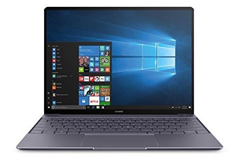 Huawei MateBook X (33,78 cm, 13,3 Zoll FHD+ Display, Intel Core i5-7200U, 8 GB RAM, 256 GB SSD, 2 USB 3.0 (Type C) Dolby Atmos, Windows 10 Home) grau