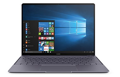 Huawei MateBook X (33,78 cm, 13,3 Zoll FHD+ Display, Intel Core i5-7200U, 8 GB RAM, 256 GB SSD, 2 USB 3.0 (Type C) Dolby Atmos, Windows 10 Home) grau