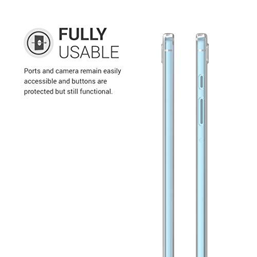 kwmobile Hülle kompatibel mit Samsung Galaxy Tab S6 Lite - Silikon Tablet Cover Case Schutzhülle Transparent
