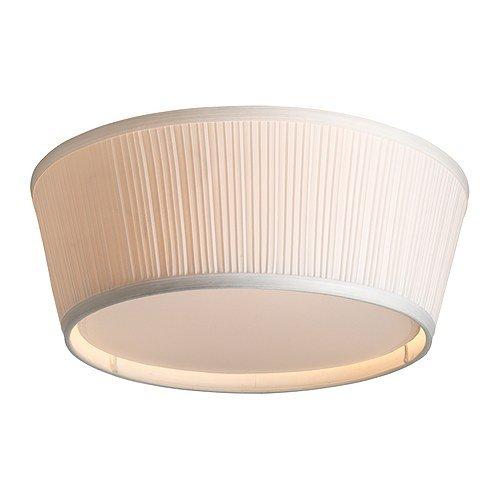 IKEA ARSTID - Plafondlamp, wit - 46 cm
