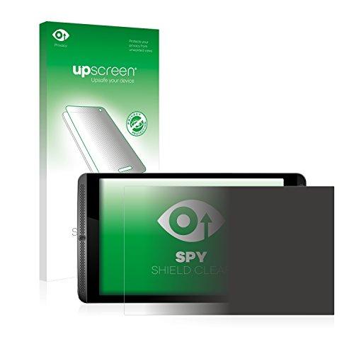 upscreen Anti-Spy Blickschutzfolie kompatibel mit Nvidia Shield K1 Privacy Screen Sichtschutz Bildschirmschutz-Folie