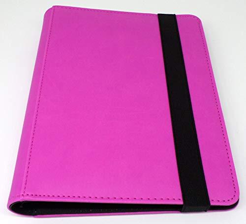 docsmagic.de Pro-Player Premium 4/8-Pocket Album Purple - 160 Card Binder - MTG - PKM - YGO - Álbum para Tarjetas Púrpura