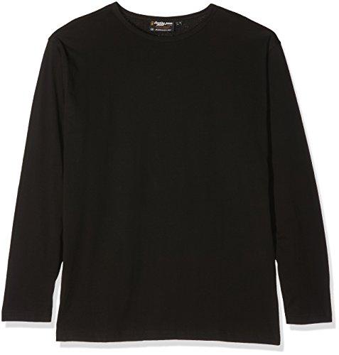 Replika jeans 99680 T-Shirt Manches Longues, Noir (0099), XX-Large Homme