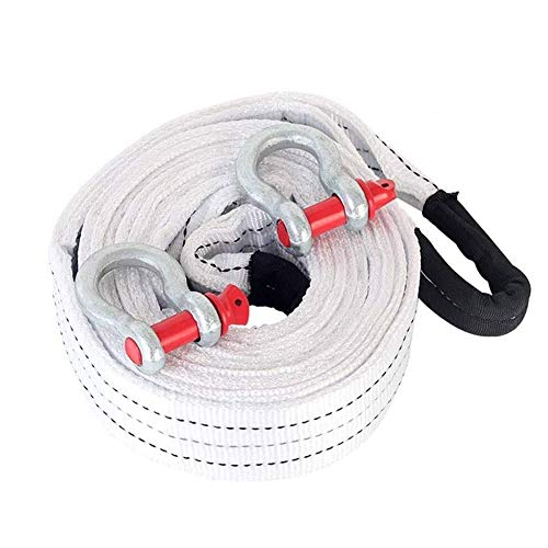 Buy Discount WPFC Car 5M Tow Rope with Two High-Strength Steel Hooks. The U-Shaped Hook is Made of A...