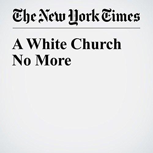 A White Church No More audiobook cover art