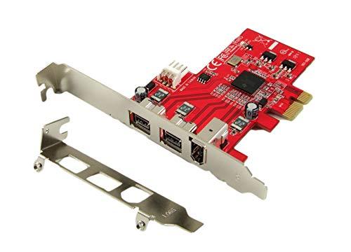 Ableconn PEX-FW107 1394b & 1394a 3-Port PCI Express (PCIe) Low