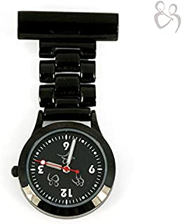 Black ICE FOB Watch - Swiss Movement