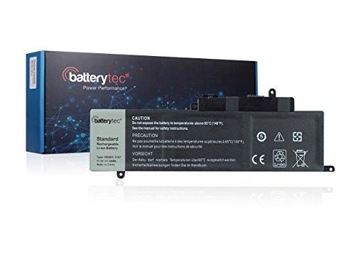 Batterytec® Batterie de Remplacement pour Dell Laptop, Dell GK5KY 4K8YH, Dell Inspiron 13 7347 Séries. [11.1V 43Wh, 12 Mois de Garantie]