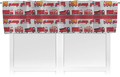 RNK Shops Firetrucks Valance (Personalized)