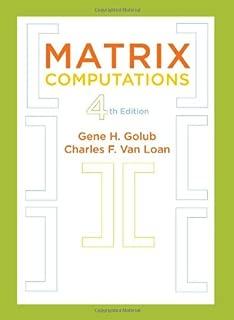 van loan matrix computations