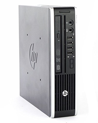 HP Elite 8200 Ultra Slim Desktop PC - Intel Core i5-2400S 2.7GHz 8GB 128GB SSD Windows 10 Professional (Renewed)