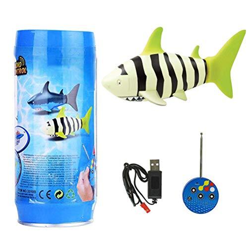 Fernbedienung Shark Spielzeug Remote Controlled Shark, Mini RC fish, Remote Control Electric Shark Children's Water Toy